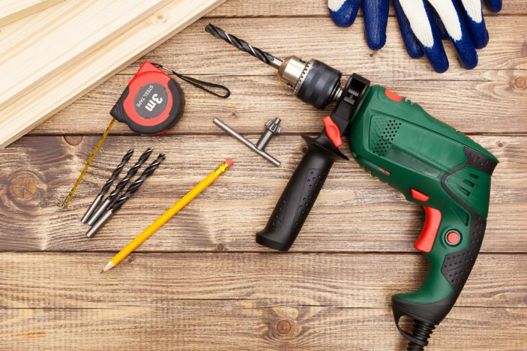 Uso de herramientas portátiles eléctricas y neumáticas