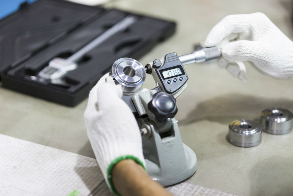 Verificador de piezas y control de calidad