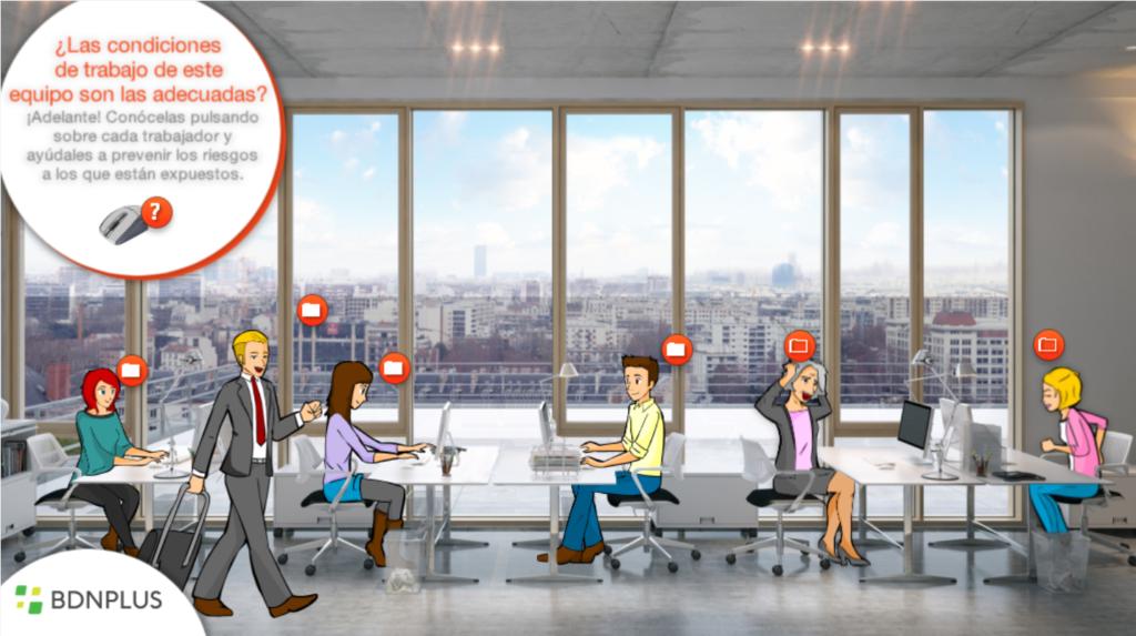 Formación de prevención de riesgos en oficinas (sector metal)